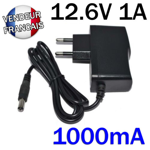 AC Adapter Charger Dc 12.6V 1A 1000mA AC/Dc AC Dc Adapter