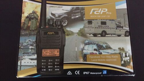FDP 80Ch UHF Radio - Tradies Package Deal - Free Delivery