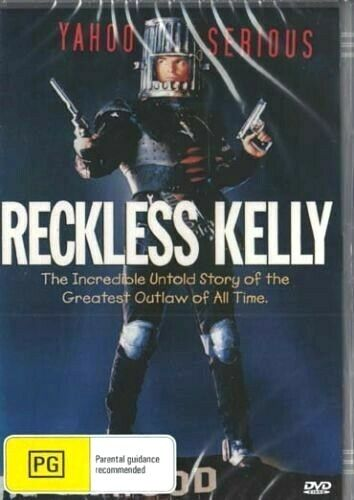 Reckless Kelly -  Yahoo Serious - New Region All DVD