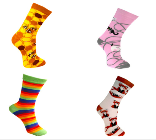 Eco Friendly Fairtrade Bamboo Socks, 18 Designs in Two Sizes, Mens and Womens