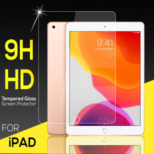 For Apple iPad Air 2 3 iPad 5th 6th 7th 8th Gen Tempered Glass Screen Protector