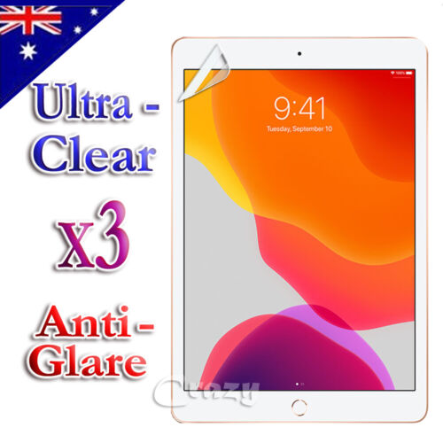 Clear Anti Glare Matte Screen Protector For Apple iPad 5th 6th 8th 7th Gen Air 1