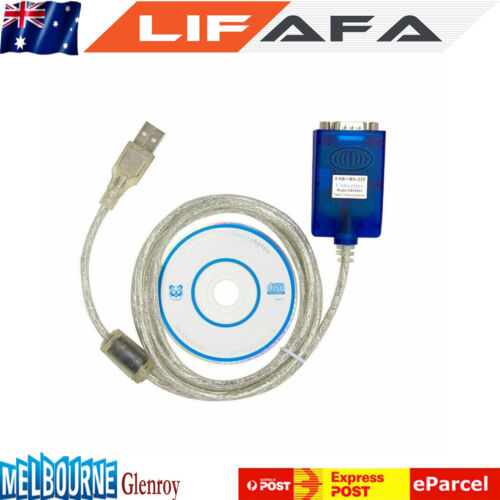 USB to Serial Adapter High Quality FTDI CHIPSET RS232 BT232 WIN 7 8 & 10 DB9 LF