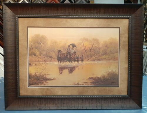 """G. HARVEY FRAMED """"COURTIN DAYS"""" LIMITED EDITION #1372 OF 2250"""
