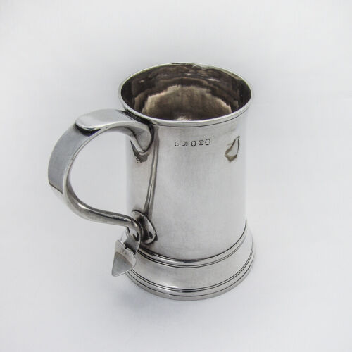 English Tankard Peter Ann William Bateman Sterling 1802 London
