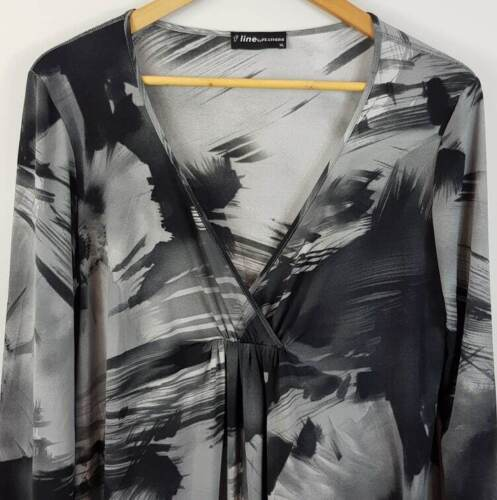 [ FEATHERS ] F-Line Womens Print Tunic Dress | Size XL or AU 16