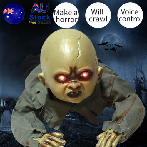 Halloween Scary Horror Crawling Zombie Bar Party Haunted House Decoration TOY