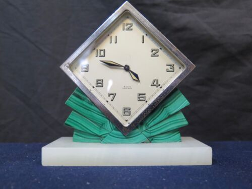 Vintage Art Deco Period Table Clock