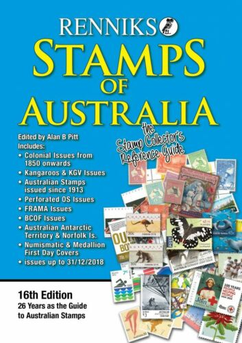 Renniks STAMPS of AUSTRALIA  Catalogue 16th Edition NEW in 2019