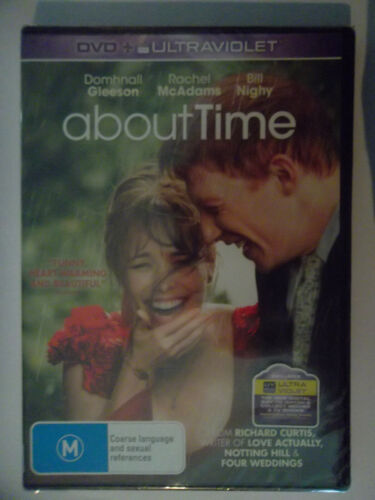 ABOUT TIME DVD , 2013