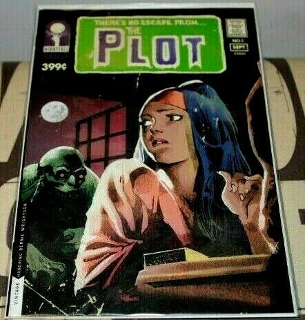 THE PLOT #1 COMIC BOOK NM VAULT COMICS SWAMP THING HOMAGE COVER NEW IN STOCK