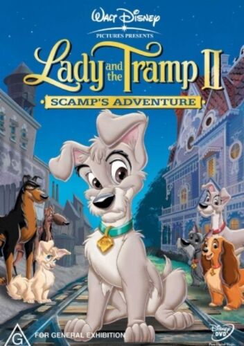 Lady And The Tramp 2 - Dvd Like new