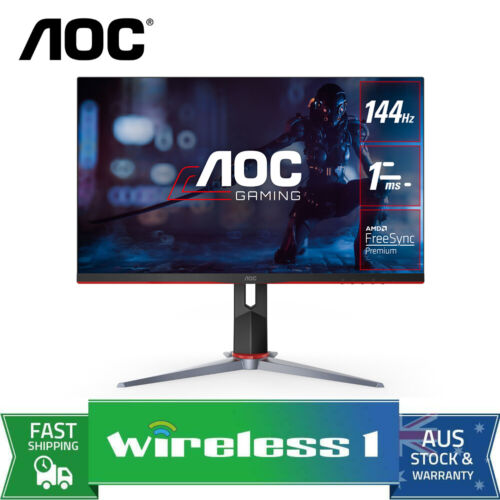 AOC 24G2 23.8 inch IPS FreeSync 1ms 144Hz Gaming Monitor