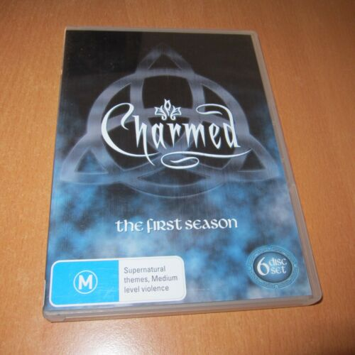CHARMED - SEASON 1 ( DVD , 6 Disc Set Region 4 ) ~ * VERY GOOD *
