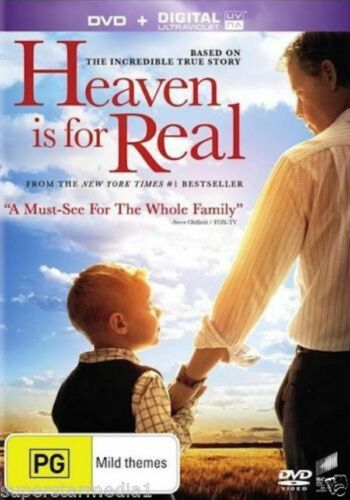 Heaven Is For Real - Rare- Aus Stock DVD NEW