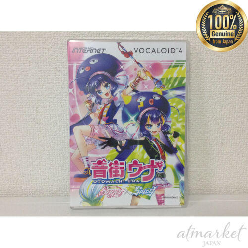 NEW VOCALOID 4 Library sound area UNA PC software music production From JAPAN
