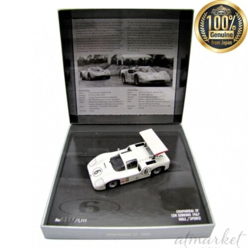 Kyosyo Mini Voiture 436671406 Champs Dp 1/43 Chaparral 2F Sebring 1967 Spence