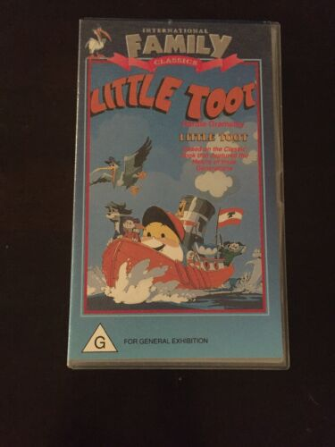 Little Toot Vhs Video Family