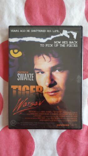 Tiger Warsaw - Patrick Swayze, New and  Sealed Rare, Region All PAL DVD