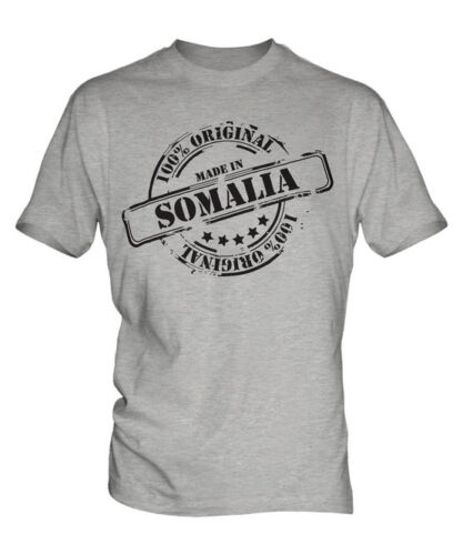 MADE IN SOMALIA MENS T-SHIRT GIFT CHRISTMAS BIRTHDAY 18TH 30TH 40TH 50TH 60TH