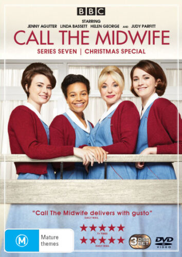 Call the Midwife: Series 7 / Christmas Special  - DVD - NEW Region 4