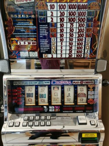 Top Holiday Gifts CLEOPATRA  COINLESS  IGT SLOT MACHINE  FUN FOR YOUR HOME