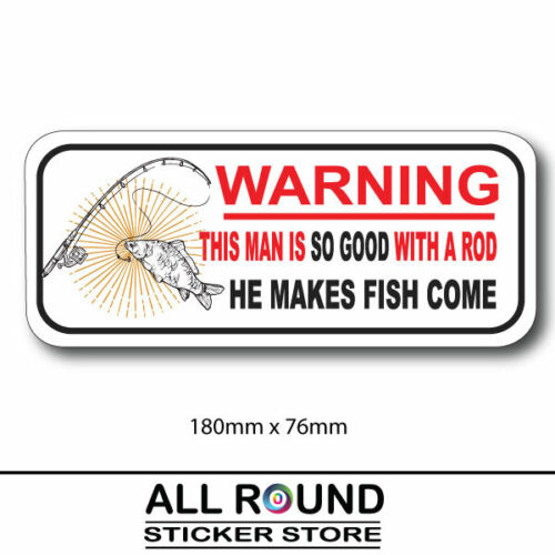 Warning not to be operated by Morons sticker water /& fade proof funny rude prank
