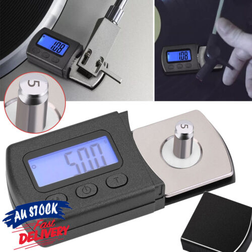 Professional Portable Pressure Scale Force Stylus Digital Turntable Gauge LCD