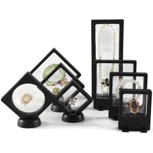 Necklace Ring Gift Jewelry Show Case Organiser Holder Stand Display Showcase
