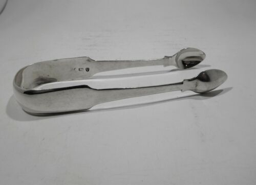 Antique sterling silver tongs c 1818-1819 Newcastle United Kingdom