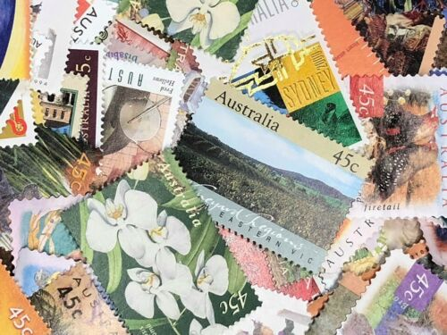 MIXED MINT FULL GUM UNCANCELLED AUSTRALIAN STAMPS BRAND NEW $1264 FACE VALUE