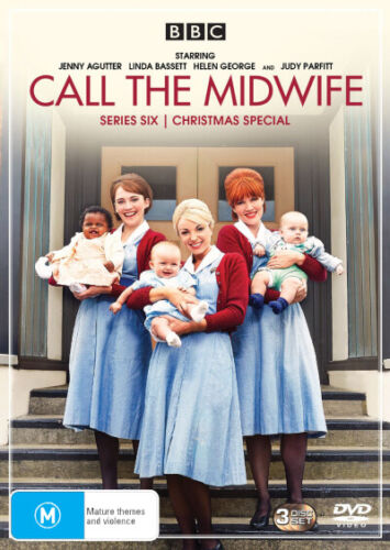 Call the Midwife: Series 6 / Christmas Special  - DVD - NEW Region 4, 2