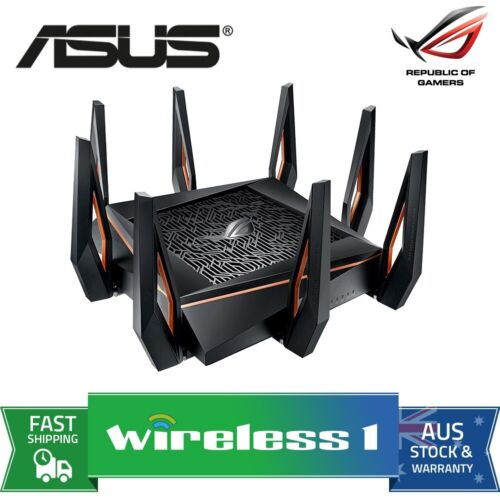 Brand New ASUS ROG Rapture GT-AX11000 Wireless-AX Tri-Band WiFi 6 Gaming Router