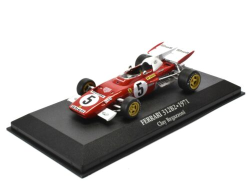 FERRARI 312B2 Regazzoni (1971) 1/43 Atlas F1 Collection Voiture Diecast FER05