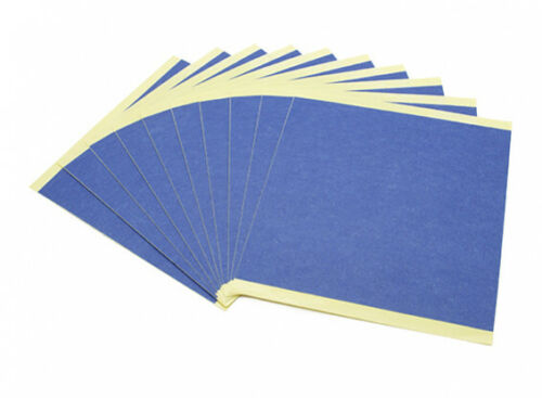 3D Printing Accessories Blue Print Bed Paper (10pcs)