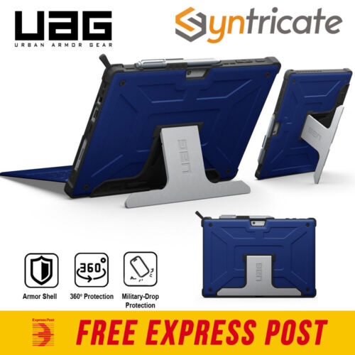 UAG Military Standard Rugged Case Stand for Microsoft Surface Pro 7/6/5/4 -Blue