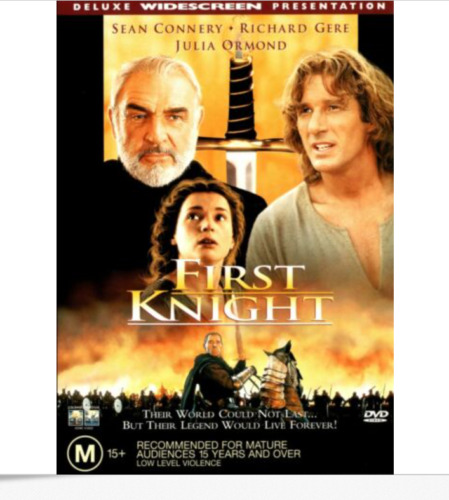 First Knight : New Old Australian Stock : NEW DVD : *Rare OOP* Richard Gere :