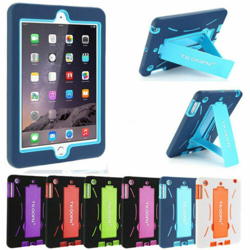 Kids Heavy Duty Stand Shockproof Back Case Cover For IPad Mini Air 1 2 3 4 5