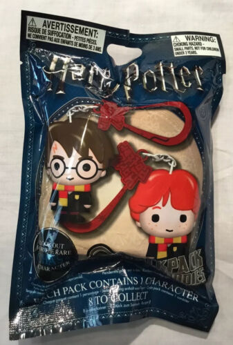 Harry Potter - Backpack Hangers (Mystery Figure) Rare Chase - Ron Hermione Draco