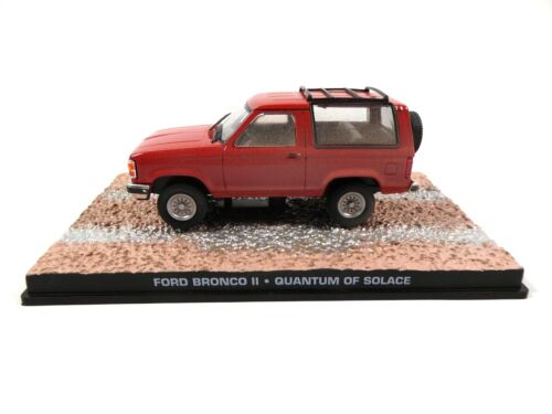 Ford Bronco II James Bond 007 Quantum of Solace - 1:43 Voiture Model Car DY103