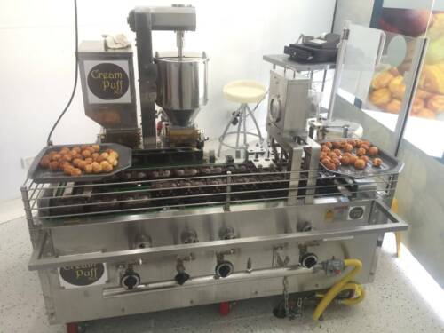 CreamPuff - Walnut Cake machine, Takeaway - Start your own Business