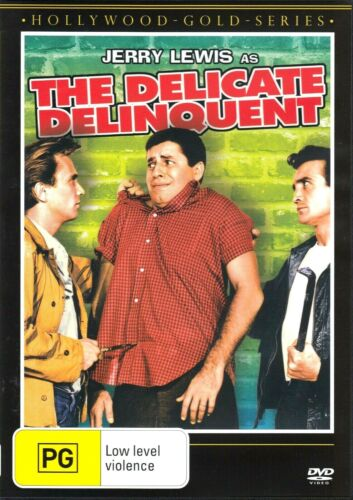 The Delicate Delinquent - Jerry Lewis - DVD