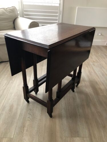 Antique Oak Gateleg Table