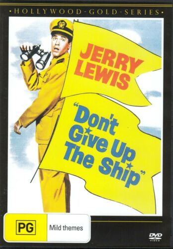 Don't Give Up the Ship  - New and Sealed DVD