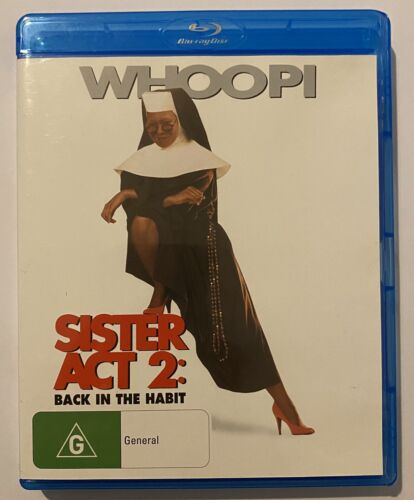 Sister Act 2 Back In The Habit VGC Rated G Region Free Movie 🍿 Whoopi Goldberg