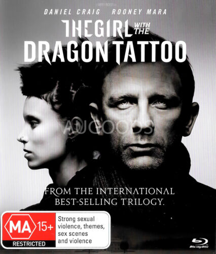The Girl with the Dragon Tattoo - Rare- Aus Stock Blu-Ray NEW
