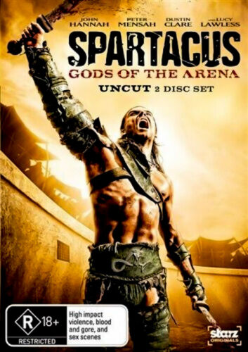 Spartacus Seasons 1,2,Gods of the Arena - Series Region 4 DVD NEW