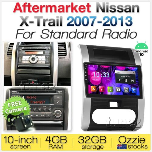 "10"" Android Car Player MP3 For Nissan XTrail T31 2007-2013 Radio Stereo Fascia Z"