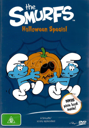 THE SMURFS: HALLOWEEN SPECIAL -Family Series Region 4 DVD NEW
