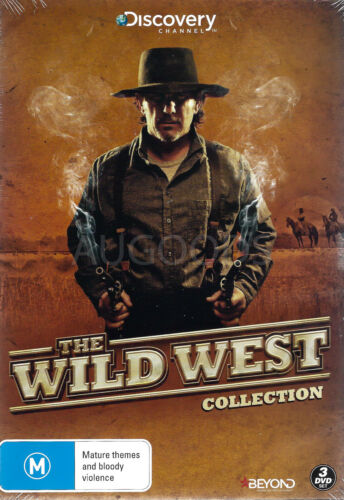 THE WILD WEST COLLECTION -Educational Series Region 4 DVD NEW